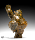 "8.5"" Dancing Bear by Markoosie Papigatok"