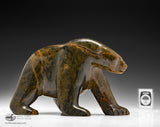 "RESERVED** 7"" Walking Bear by Matt Alariaq"