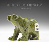 "2.5"" Miniature Walking Bear by Mosesee Pootoogook"