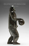 "11"" Inuk Basketball (Arctic Ball) Player by Pits Qimirpik"