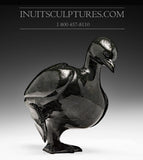 "8"" Black Dancing Goose by Pudlalik Shaa"