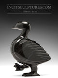 "7"" Dark Dancing Goose by Pudlalik Shaa"