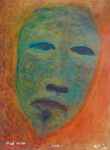 Sad Man by late Jutai Toonoo (1959-2015)