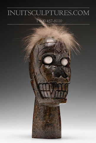 "8"" Shaman Face by Late Samonie Toonoo (1969 - 2017)"