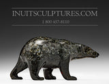 "4"" Dark Walking Bear by Tim Pee"