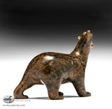 "3.5"" Brown Walking Bear by Tim Pee"