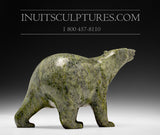 "8"" Green Walking Bear by Tim Pee"