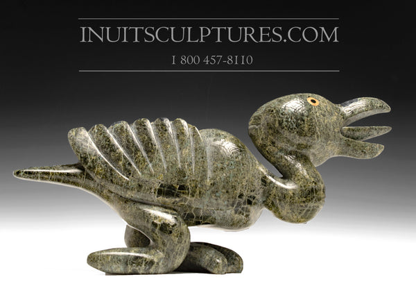 "RESERVED**  15"" Museum Piece Bird Spirit by Toonoo Sharky"