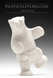 "10"" Striking Marble Two Way Dancing Bear by Tuk Nuna"