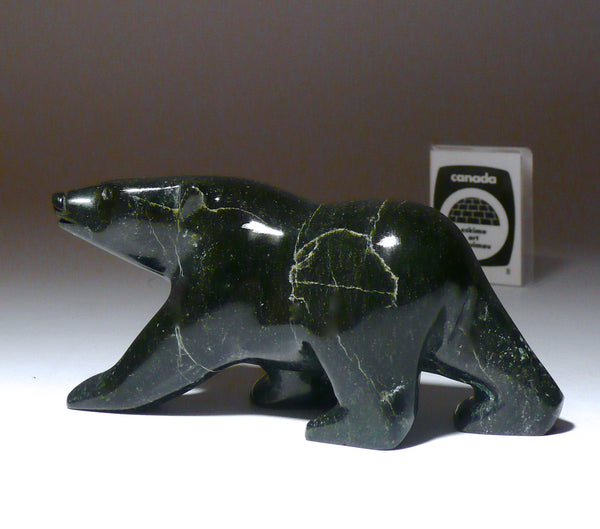 "4.5"" Black Walking Bear by Joanie Ragee"