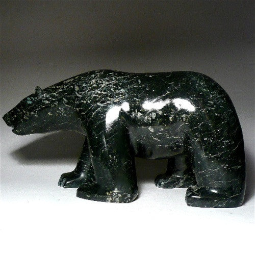 "12"" Walking Bear by TeeTee Curley"