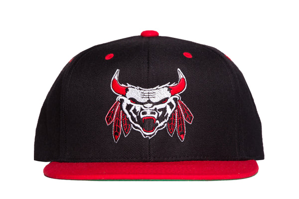 Chicago Beast Snap Back | MURDER / BLACK