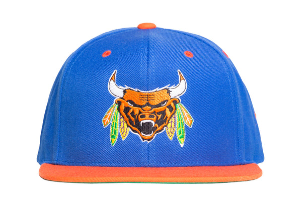 Chicago Beast Snap Back | BLUE/ORANGE