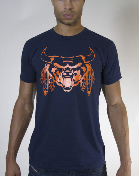 The Beast (Navy/Orange)