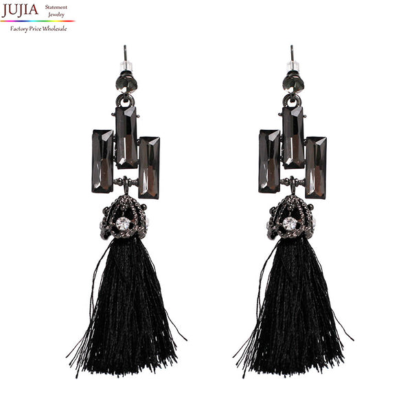Bohemian Tassel Earrings  New Statement Jewelry Factory Wholesale earring 3 colors Fringing earrings