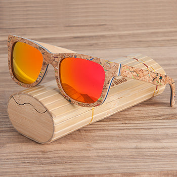 BOBO BIRD Brand Unique Wood Sunglasses Women Men Luxury Polarized Color Sun Glasses Retro with Memorial Gift for Drop Ship