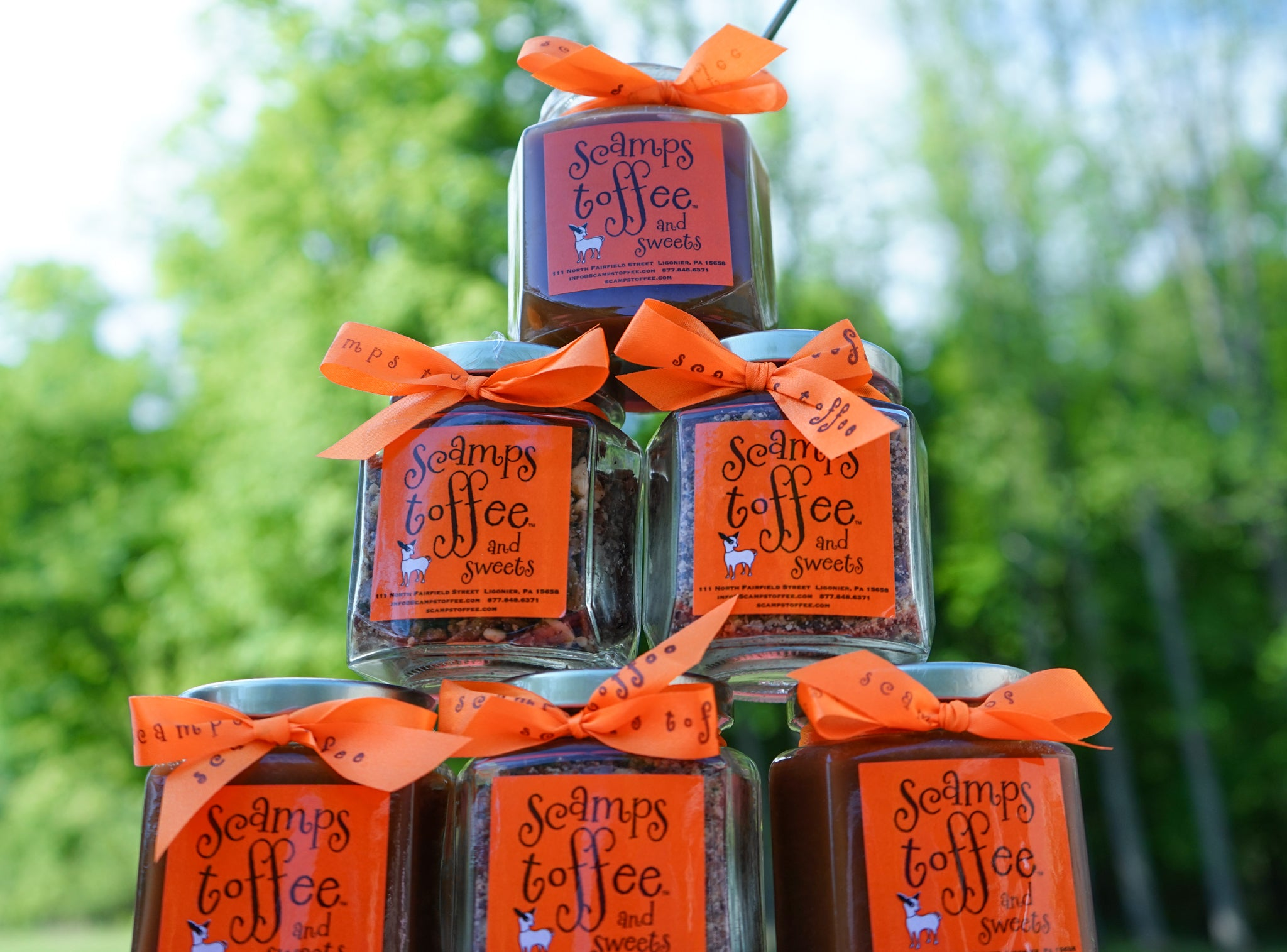 Toffee Sauce and Bits Gift Set - Valentine's Day Tag