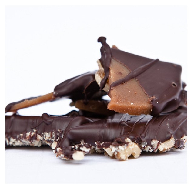 Dark Chocolate Toffee - Holiday