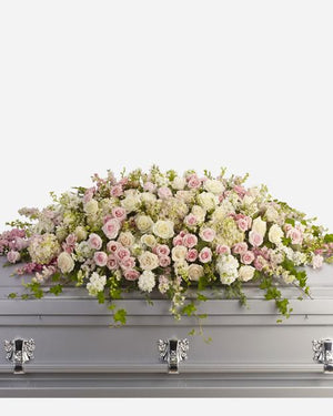 Always Adored Casket Spray - Fresh Blooms Flowers