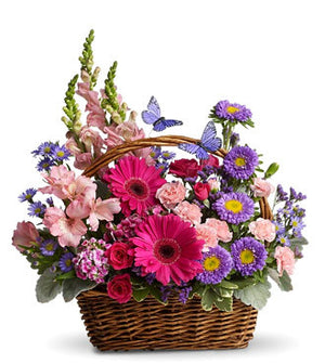 Country Basket Blooms Teleflora T48-3B