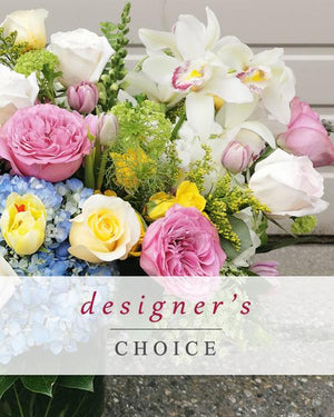 Designer Choice Seasonal Arrangement - Fresh Blooms Flowers