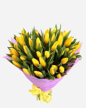 Fresh Tulips Bouquet - Fresh Blooms Flowers