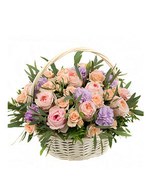 Pastel Gentle Basket