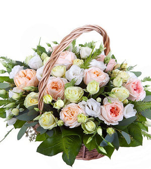 Peach Elegance Basket