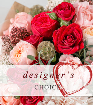 Designer Choice Valentine Arrangement