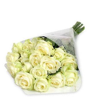 White Roses Special - Fresh Blooms Flowers