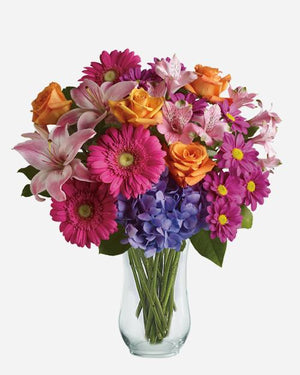 Wonderful Wishes - Fresh Blooms Flowers
