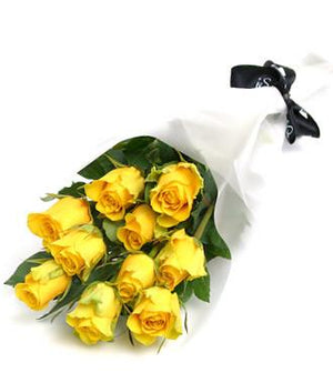 Yellow Roses Special - Fresh Blooms Flowers