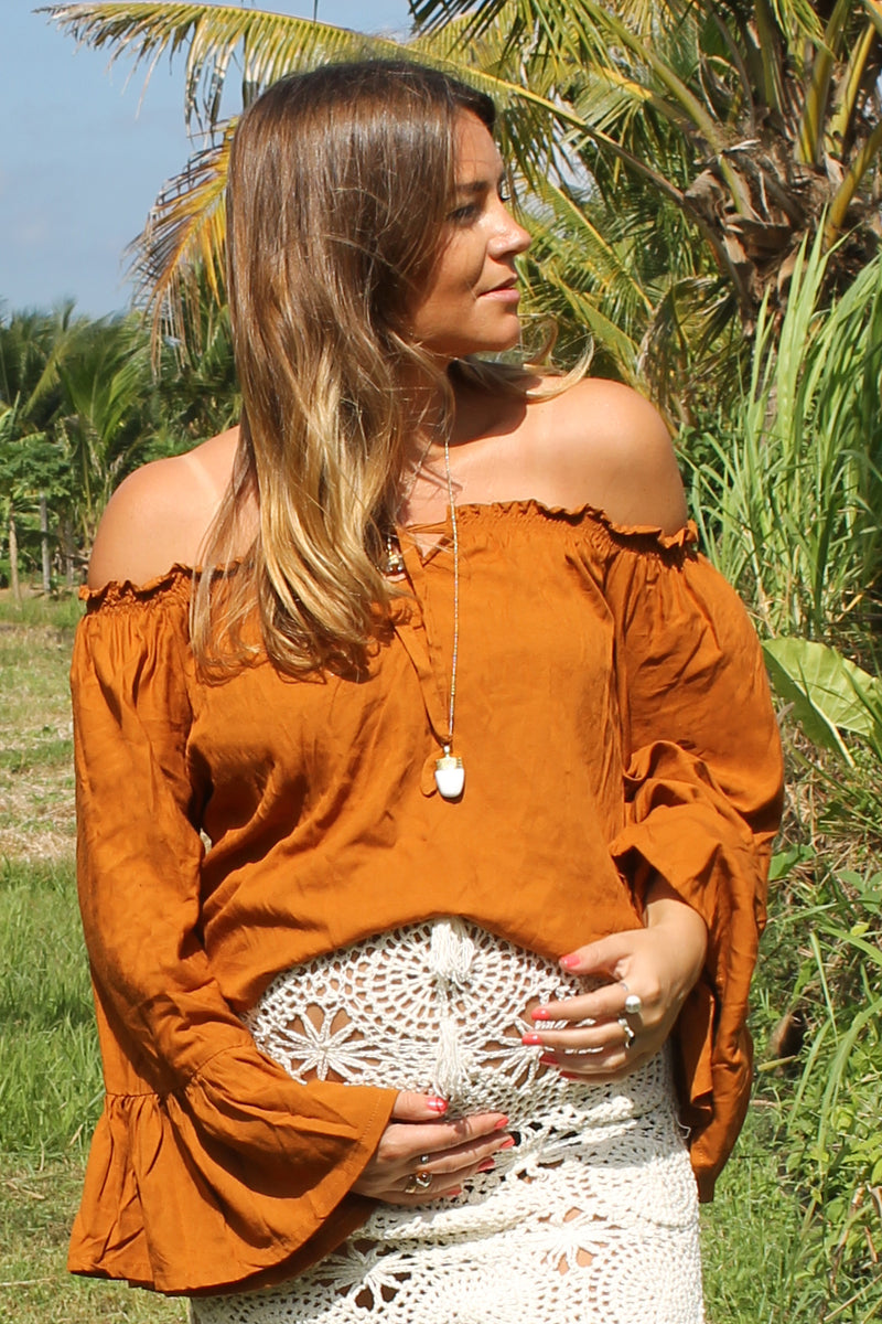 Savannah Skirt RUST