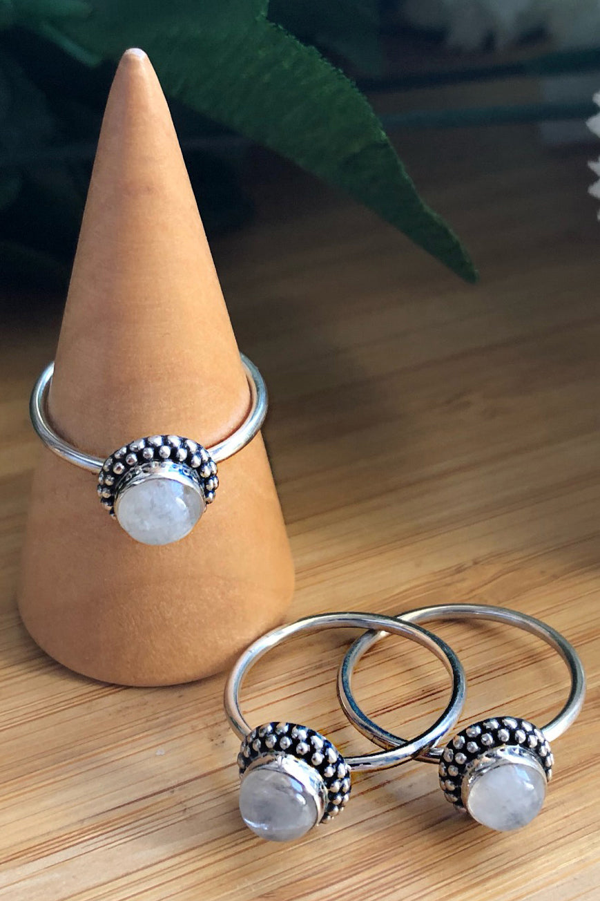Moonstone Magic Ring