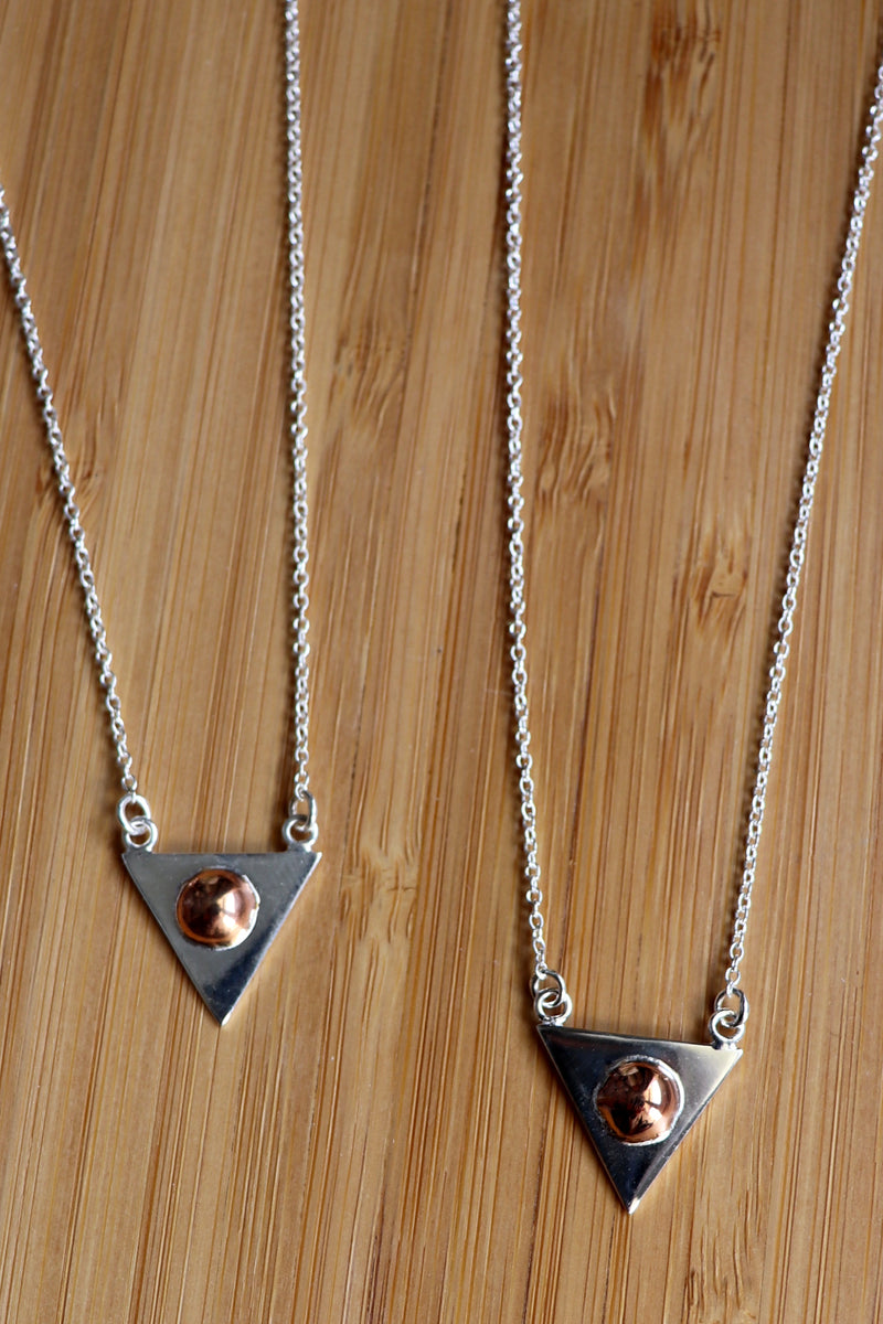Bermuda Rose Gold Necklace