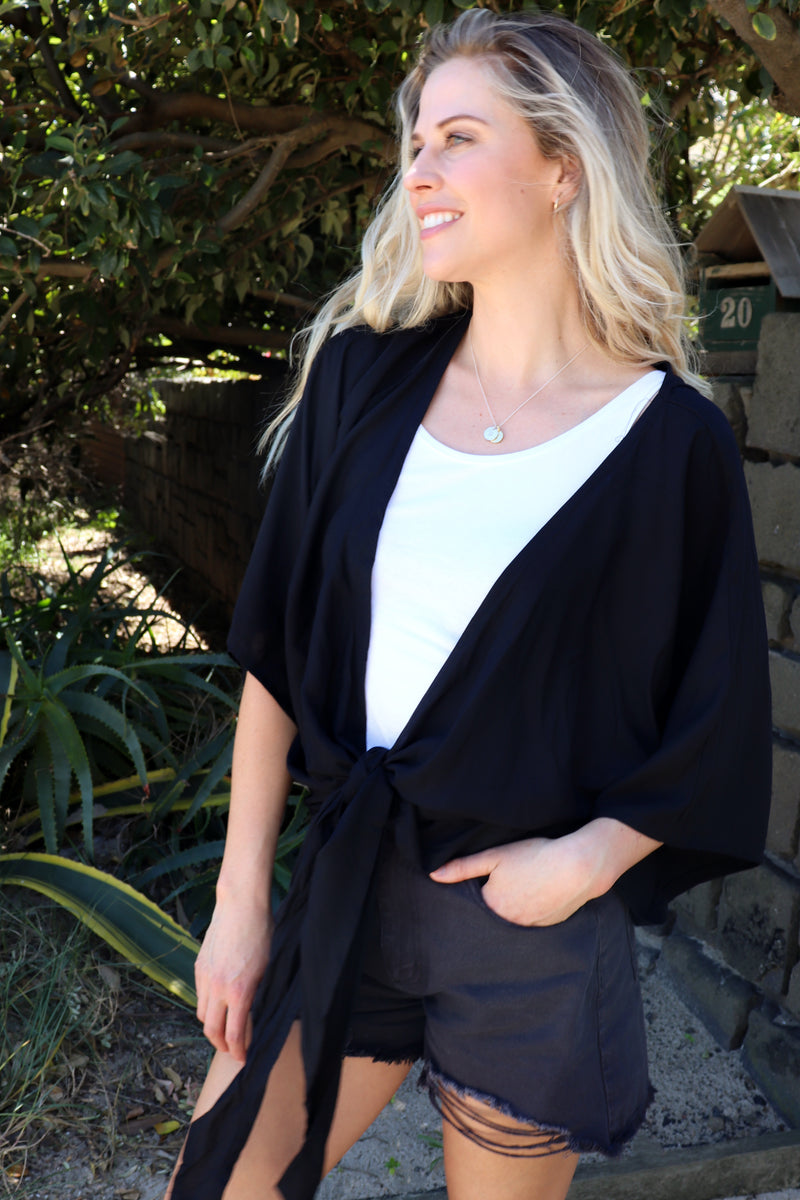 Savannah Top BLACK