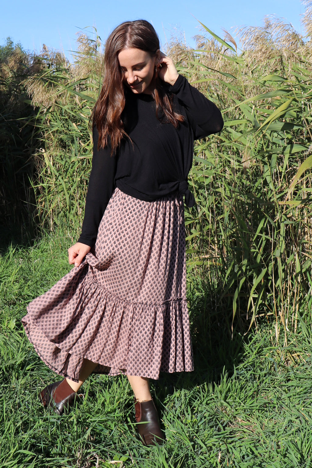 Laguna Skirt PRAIRIE BROWN