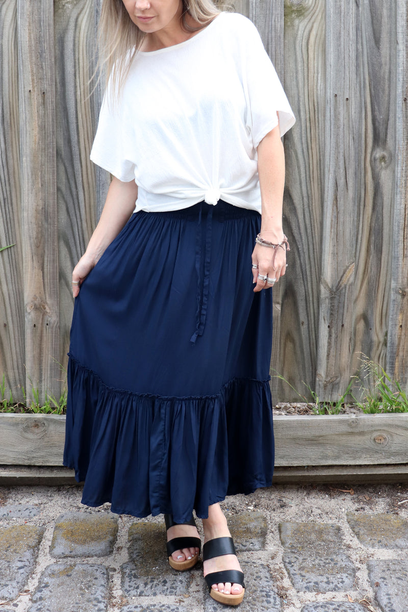 SAMPLE Laguna Skirt NAVY