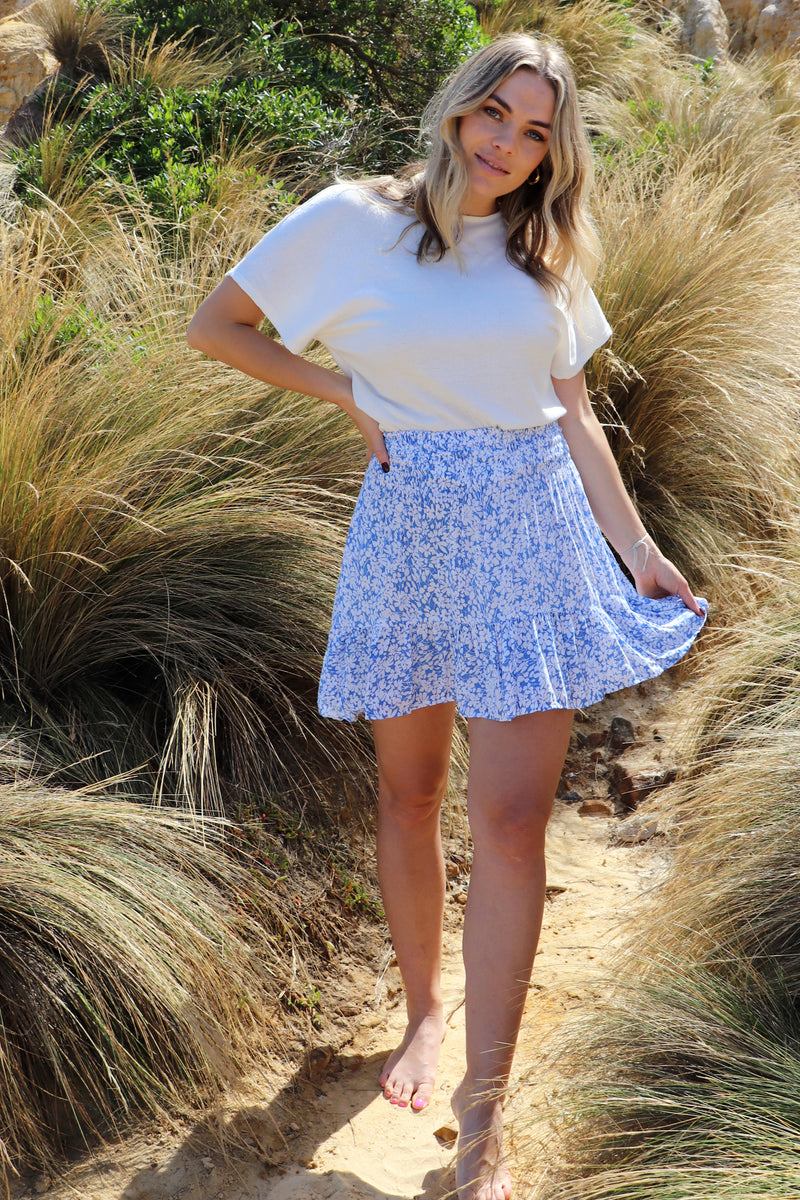 Savannah Skirt BLOSSOM BLUE