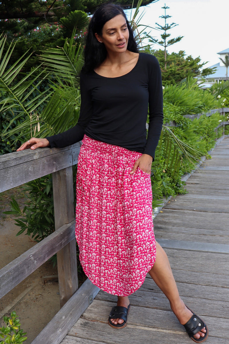 Samsara Skirt BERRY