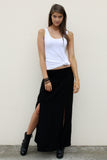 WILD GYPSY MAXI BASIC BLACK
