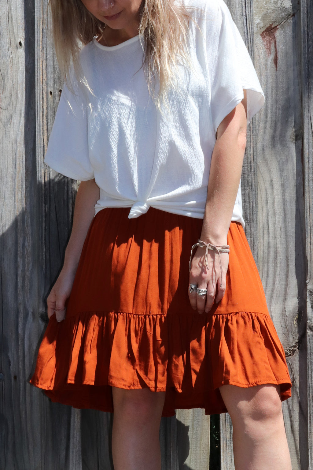 SAMPLE Savannah Skirt Carrot