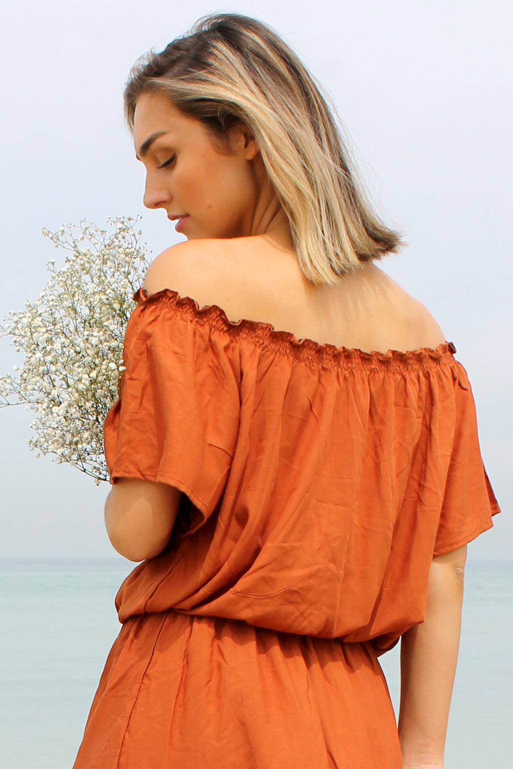 Savannah Top BURNT ORANGE