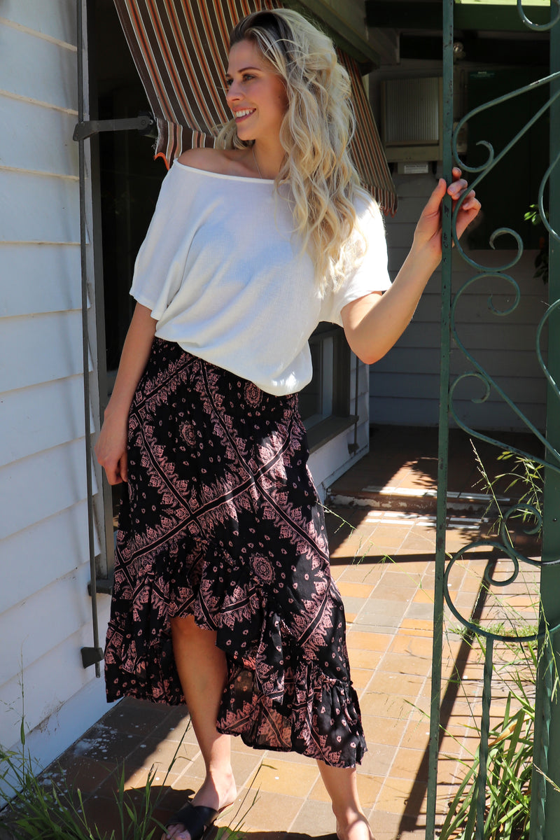 Wild & Free Skirt SUMMER BLOOM
