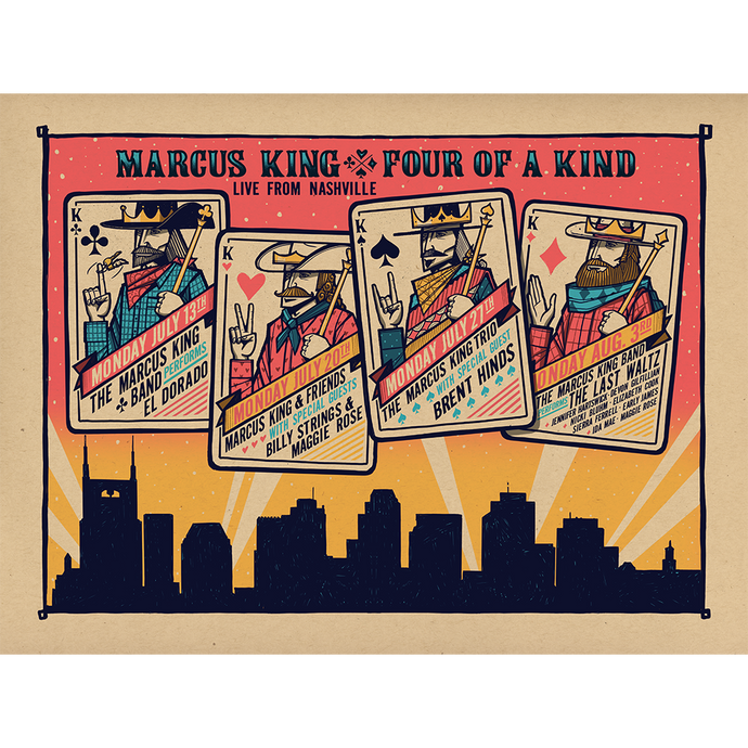 Four Of A Kind Poster