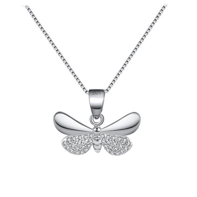 Double winged Butterfly Pendant