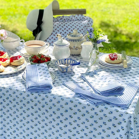 Hand Block Printed Table Linen
