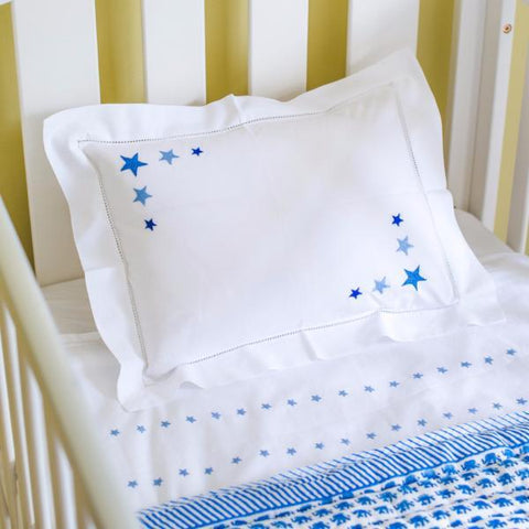 Embroider pillow cases