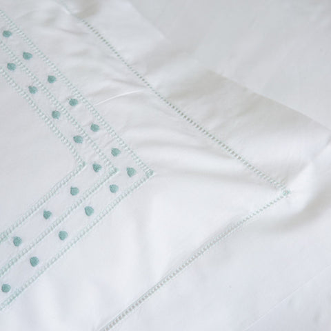 Matilda Duck Egg Pillowcase