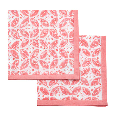 Berry Napkins Pink - Set of 4
